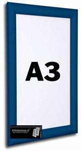 Kliklijst A3 BLAUW