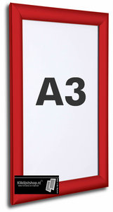 Wissellijst A3 Rood