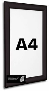 Kliklijst A4 ZWART