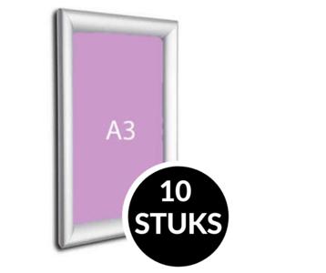 10x Kliklijsten A3